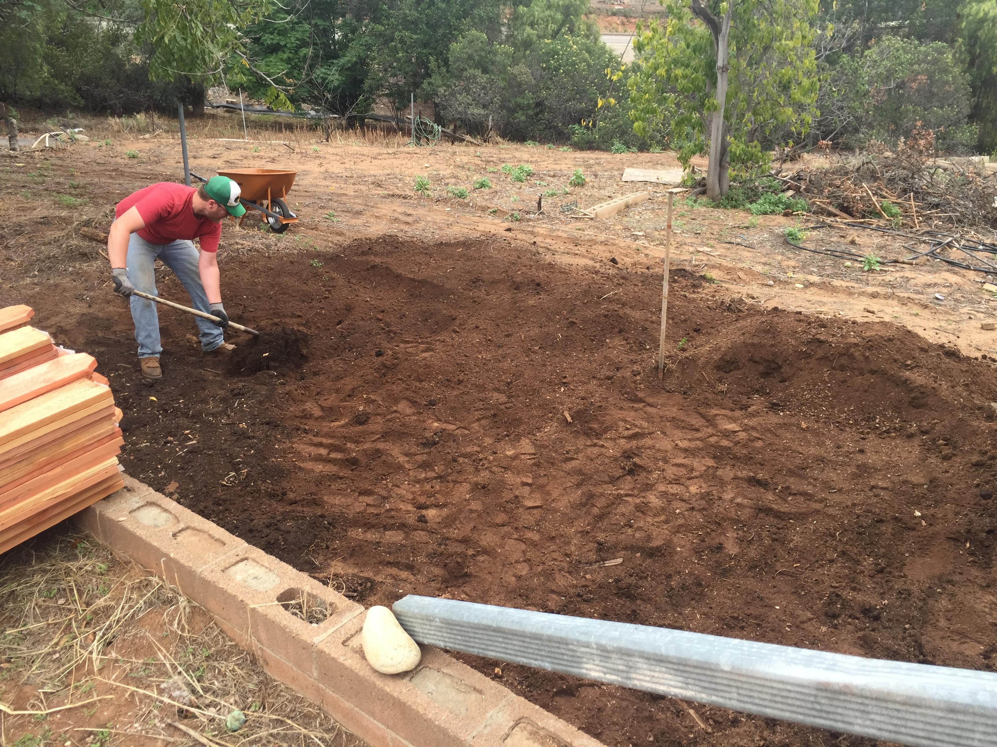 DIY Raised Garden Beds - Red Door Blue House